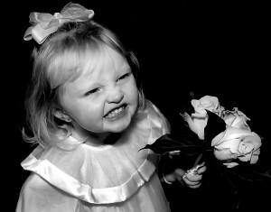 AAFebruary 14 flowergirl
